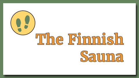 The Finnish sauna