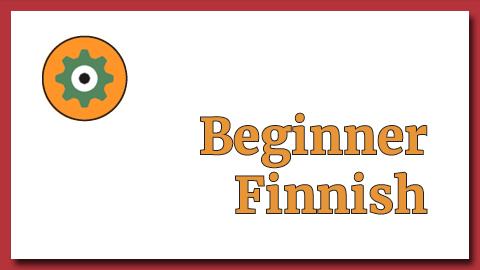 Beginner Finnish